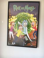 Quadros Rick and Morty foto 1