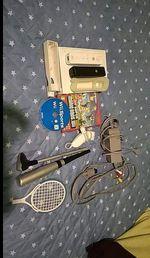 Wii com acessórios, 2 jogos,e os comandos foto 1