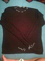 Camisola malha preta, tamanho M Zara foto 1