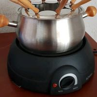 Fondue de chocolate (Panela aço inoxidável) foto 1