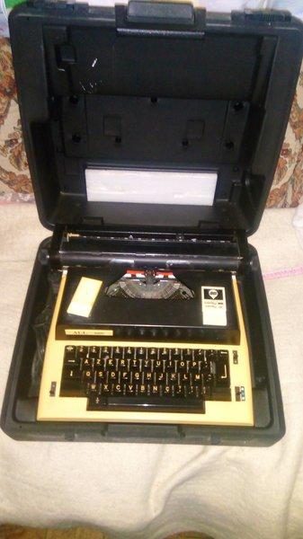 Máquina de escrever foto 1