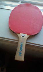 Raquete ping pong em bom estado foto 1