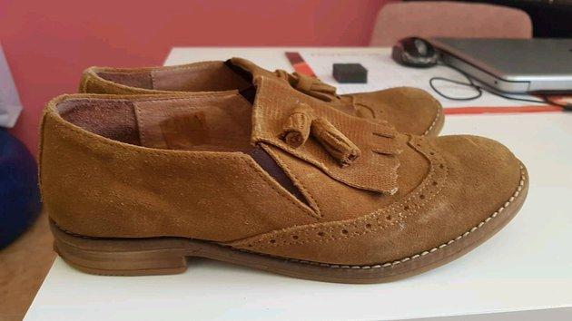 Sapatos em pele foto 1