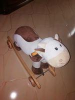 Vaquinha de sentar com rodinhas. Contacto - 935616 foto 1