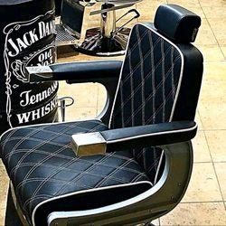 Cadeira de barbeiro como nova foto 1