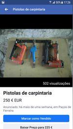 Pistolas de carpintaria foto 1