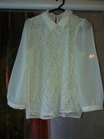 Blusa com renda M foto 1