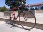 Bicicleta corrida clássica restaurada foto 1