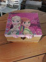 Caixa decorativa feita de paletes Envernizada foto 1