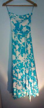 Vestido padrão floral foto 1