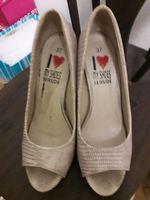 Sapatos de sola compensada foto 1