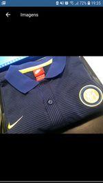 Polo Inter Milão Nike tam L foto 1