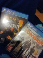 Vendo Black Ops 4 e The division para ps4 foto 1