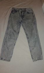 Calças mom jeans foto 1