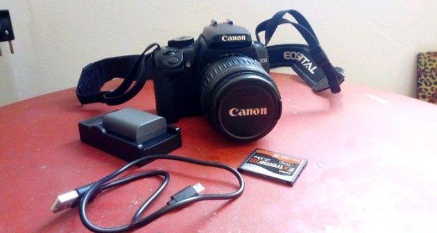 Maquina fotografica canon foto 1