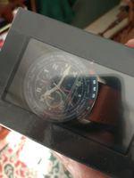 Relógio Homem Aviator F Series Castanho foto 1
