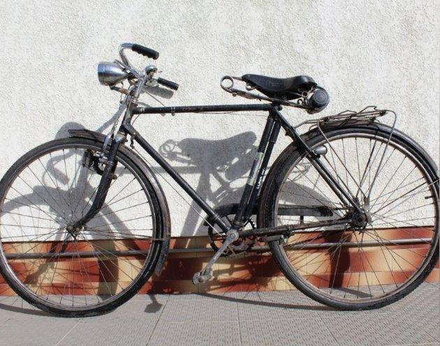Bicicleta pasteleira travões de alavanca foto 1