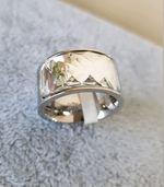 Lindíssimos anéis em Aço Inoxidável e brilhantes foto 1