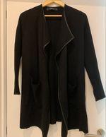 Casaco Lã Longo Zara foto 1