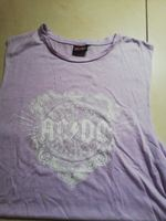 Blusa lilás acdc foto 1