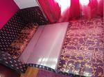 Sofá cama tecido foto 1