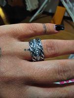 Anéis prata  Tamanho 24 foto 1