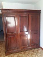 Roupeiro madeira 3 portas foto 1