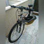Bicicleta em bom estado c/porta bicicletas foto 1