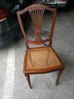 4 cadeiras de palhinha foto 1