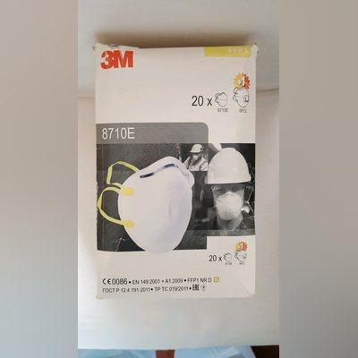 Máscaras de Partículas FFP1 3M 8710E - caixa 21 un