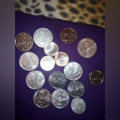 Vendo notas e moedas de escudo foto 1