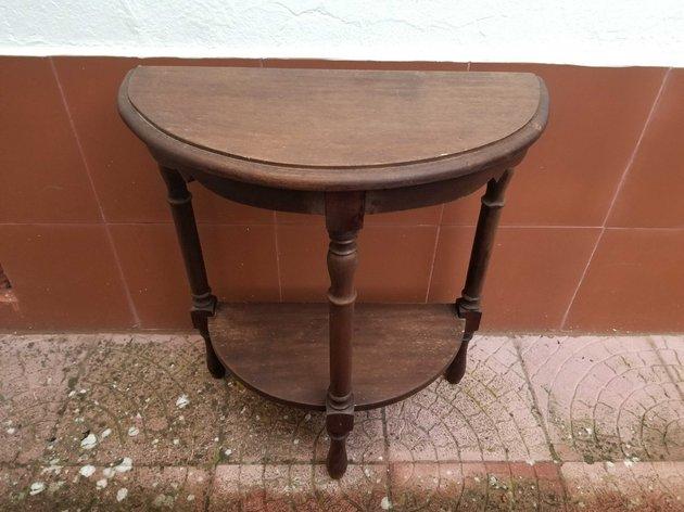Mesa de madeira para restauro foto 1