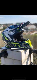 Capacete motocross airoh foto 1