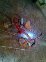 Bicicleta barbie usada foto 1