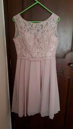 Vestido cor de rosa foto 1