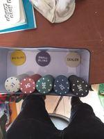 Conjunto de poker completo foto 1