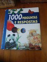 """livro """"1000 perguntas e respostas"""" foto 1"""