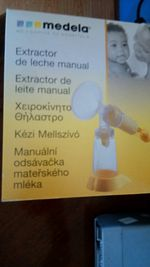 Bomba manual Medela foto 1