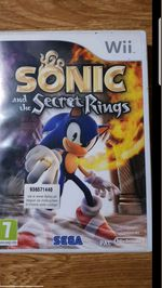 Jogo Wii - Sonic and The Secret Rings foto 1