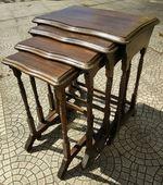 4 mesas de apoio vintage foto 1