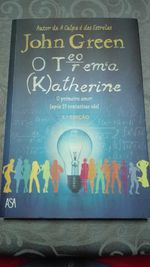 Livro : O teorema Katherine de John Green foto 1
