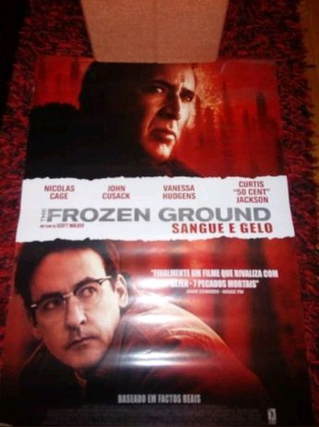 "Poster ""Frozen Ground"" foto 1"
