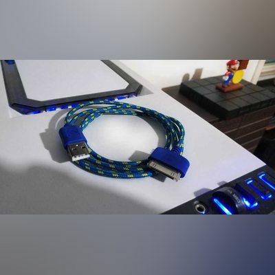 Cabos de Dados e Carregamento USB iPhone 3 / 4 /4S foto 1