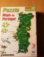 Puzzle mapa de Portugal science4you foto 1