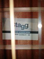 Guitarra eletro acústica stagg foto 1