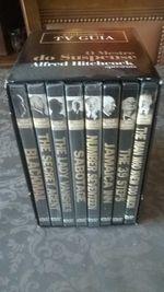 8 Filmes de Alfred Hitchcock com caixa arquivadora foto 1