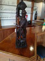 Caçador africano arte Moçambique foto 1
