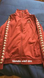 Vendo casaco Kappa vermelho foto 1
