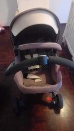 Carrinho de bebe com Alcofa e Ovo foto 1