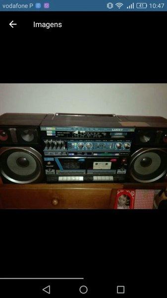 Radio grande antigo foto 1